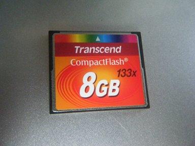 Transcend 8GB CF Card