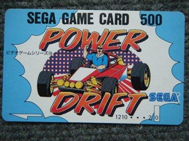 SEGA GAME CARD 500